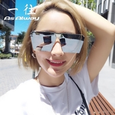新款偏光太陽鏡女眼睛2020個性方形網紅同款墨鏡男士開車潮人眼鏡