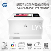 HP Color LaserJet Pro M454dn 雙面列印彩色雷射印表機 (W1Y44A)