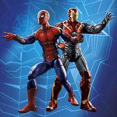 蜘蛛人 孩之寶Hasbro Marvel漫威英雄 Legends傳奇系列 6吋 蜘蛛人&鋼鐵人 雙人組 C3501