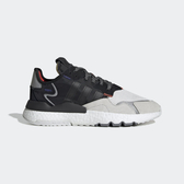 【現貨】adidas ORIGINALS NITE JOGGER 男鞋 慢跑 休閒 反光 3M 黑紅 EF9419