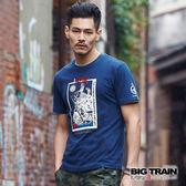 BIG TRAIN  水滸九紋龍短袖-男-B80651