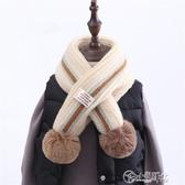 兒童圍巾 兒童秋冬季新款保暖韓版仿羊絨男童圍脖女童圍巾長款披肩寶寶洋氣