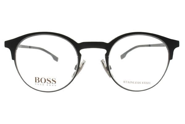 HUGO BOSS 光學眼鏡 HB0785 003 (霧黑) 簡約經典貓眼款 # 金橘眼鏡