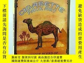 二手書博民逛書店Cigarette罕見Pack Art - A Unique B