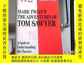 二手書博民逛書店Mark罕見Twain s the Adventures of