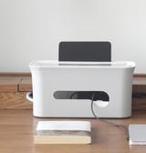 插座收納盒電源線理線器插排桌面保護集線盒接線板電線收納整理盒 科炫數位