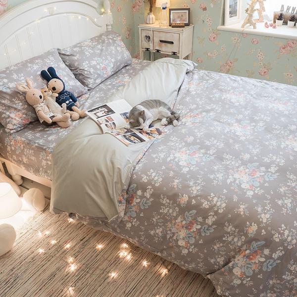 挪威花園 K3 King Size床包與雙人兩用被四件組 100%精梳棉 台灣製
