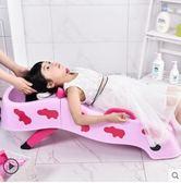 洗頭椅兒童可折疊躺椅寶寶洗頭椅小孩洗頭床嬰兒洗發架洗頭神器igo 貝兒鞋櫃