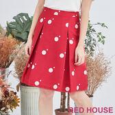 RED HOUSE-蕾赫斯-大小點打摺裙(共2色)