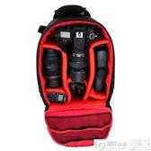 攝影包 佳能尼康專業單反相機包多功能雙肩攝影包77d700d200d80d750d背包 城市科技