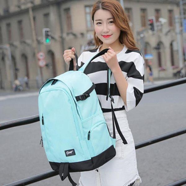 超火的雙肩包女韓版背包學院高中學生書包男電腦旅行包大容量優品匯