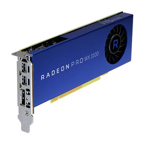 AMD RADEON PRO WX3100 工作站顯示卡