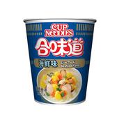 日清合味道海鮮味杯麵71G【愛買】
