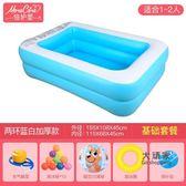 充氣泳池 嬰兒童游泳池充氣家庭嬰兒成人家用海洋球池加厚超大號戲水池