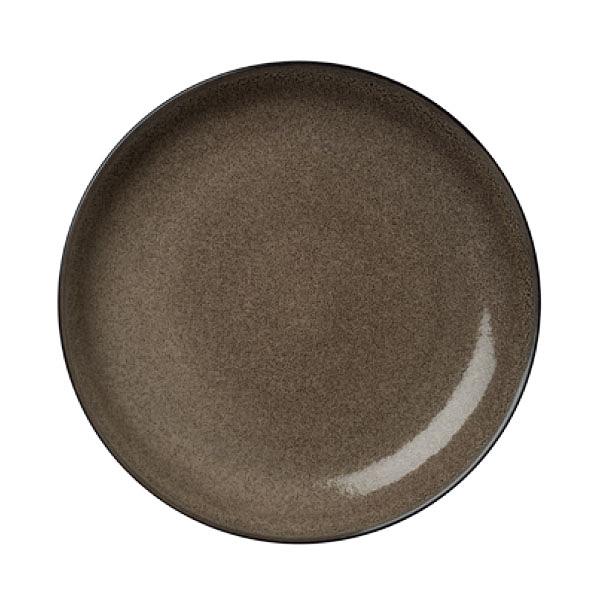 【Luzerne】陸升瓷器 Rustic 26.5cm 圓盤-咖啡色 /RT1201027