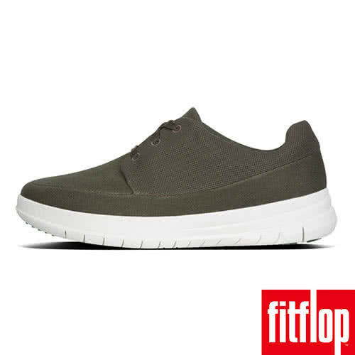【FitFlop】SPORTY-POP CANVAS SNEAKERS(迷彩綠)