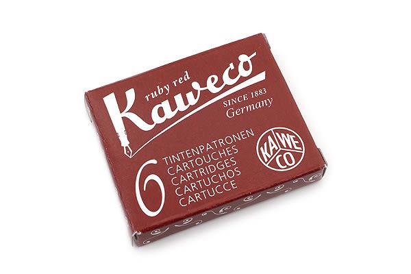 德國KAWECO紅色彩色墨水管3盒入