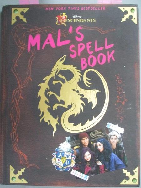 【書寶二手書T6/兒童文學_JGI】Mal s Spell Book_McLeef, Tina (ADP)
