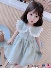 熱賣兒童洋裝 女童連身裙夏裝2021新款兒童洋氣韓版格子女寶寶夏季短袖公主裙子【618 狂歡】