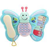 手機玩具 兒童電話玩具電話機仿真座機音樂手機嬰兒男女寶寶0-3歲1早教益智 魔法空間