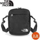 【The North Face 3.2L 側背包《黑》】3BXB/側背包/斜背包/休閒背包/通勤/出國