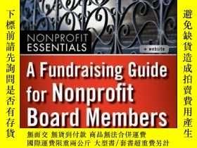 二手書博民逛書店A罕見Fundraising Guide for Nonprofit Board MembersY410016