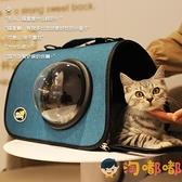 貓包外出便攜包貓咪寵物背包出門狗狗手提斜挎出行包【淘嘟嘟】