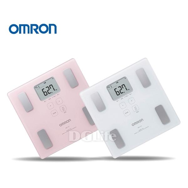 OMRON 歐姆龍 體脂計 HBF-217 (粉/白)