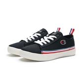 CHAMPION 全黑 白藍紅 條紋 帆布鞋 情侶鞋 男女 (布魯克林) 912210111 男 912220111 女