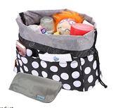 【Heine 】WIN-133L 時尚手提包 包內收納包 手提包包內收納包 手提包內膽 圓點黑