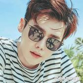 2018新款太陽鏡男士墨鏡韓版明星款偏光鏡復古長方形個性眼鏡潮人 時尚芭莎鞋櫃