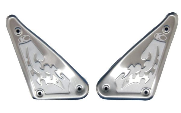 KYMCO 光陽機車 G5立體圖騰前踏板組 G5 125/150含Fi、超5 125/150F 腳踏板