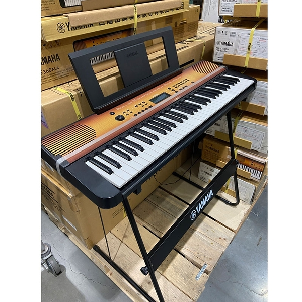 [COSCO代購] C123681 YAMAHA KEYBOARD 61鍵電子琴PSRE360MA 附琴架