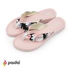美型拖鞋獨特彈力鞋床舒適減壓 特製橡膠鞋底,走路不怕濕滑
