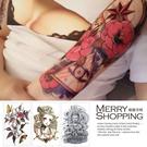 紋身貼紙   防水仿真刺青貼紙 身體彩繪圖案 男女通用貼紙 【TT004】