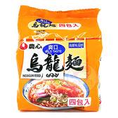 韓國 農心 爽口海鮮味烏龍麵4入(整袋裝)【小三美日】