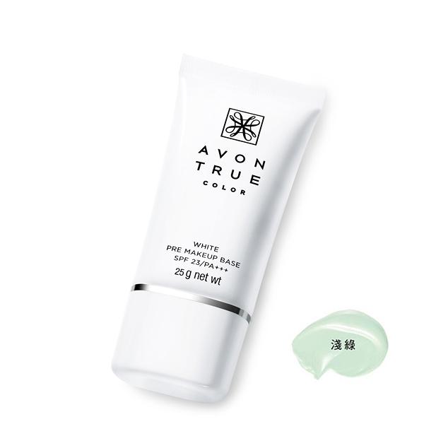 AVON 雅芳 光感潤色隔離霜 25g 淺綠款 SPF23 PA+++【PQ 美妝】
