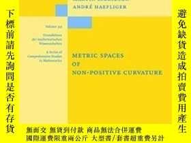 二手書博民逛書店Metric罕見Spaces Of Non-positive C