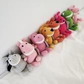 裝飾品情侶掛在包包上的小娃娃掛件可愛吊飾單肩學生手提包毛絨玩   蘑菇街小屋