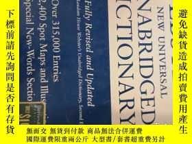二手書博民逛書店Webster s罕見New Universal Unabridged Dictionary: Fully Rev
