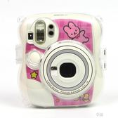拍立得相機包mini25合身包皮質復古相機包背包透明水晶殼保護套  享購