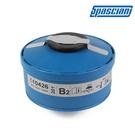 【醫碩科技】SPASCIANI中濾度無機氣體濾毒罐 適用於義大利TR-2002系列防毒面具 B2-201