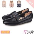 樂福鞋-TTSNAP MIT細絲金屬釦環柔軟休閒鞋 黑/灰/粉/藍