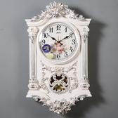 石英鐘表時鐘美式掛鐘客廳歐式個性創意時尚大氣奢華裝飾掛表家用 居享優品