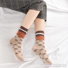 長襪長襪子女韓國純棉春秋薄款金銀絲堆堆襪百搭亮絲中筒襪ins潮秋冬 【快速出貨】