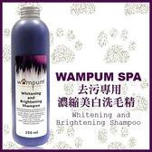 *KING WANG*【折扣碼Yahoo2019享9折】【wampum SPA】去污專用濃縮美白洗毛精-250ml