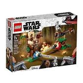 【南紡購物中心】【LEGO 樂高積木】星際大戰Star Wars系列-行動對戰 恩多突襲(193pcs)75238
