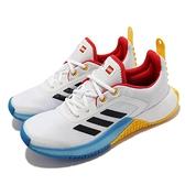 adidas 童鞋 LEGO Sport J 白 黑 黃 藍 樂高 慢跑鞋 運動鞋 愛迪達【ACS】 FX2867