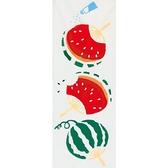 【日本製】【和布華】 日本製 注染拭手巾 西瓜團扇圖案 SD-5015 - 和布華