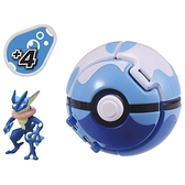 神奇寶貝 精靈寶可夢 Moncolle PokeDel-Z 寶貝球 甲賀忍蛙 TOYeGO 玩具e哥
